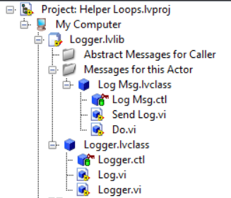 Actor Framework Basics: Walkthrough - Creating a Logger Actor